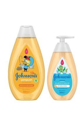 Johnson´s Baby Johnson's Baby Kral Şakir Gold Şampuan 500 Ml + Saf Koruma Sıvı Sabun 300 Ml