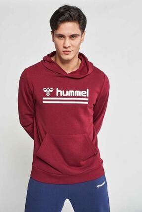 HUMMEL Erkek Bordo Kanguru Cep Sweatshirt