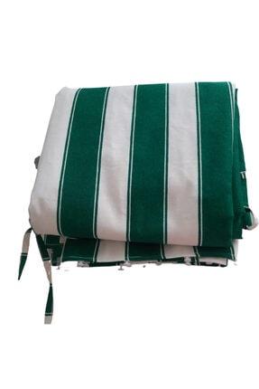 Ataylar Balkon Perdesi En.400x250 Cm Kullanıma Hazır Üstü Korniş Düğmeli Alt Ve Yanlar Bağcıklı