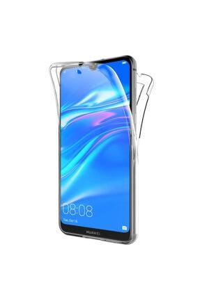 Huawei Microsonic Y7 Prime 2019 Kılıf 6 Tarafı Tam Full Koruma 360 Clear Soft Şeffaf