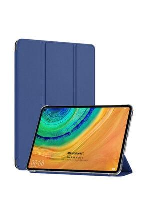 Huawei Microsonic Matepad Pro 10.8'' Kılıf Slim Translucent Back Smart Cover Lacivert