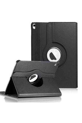 Apple Microsonic Ipad Air 4 (2020) Kılıf 360 Rotating Stand Deri Siyah