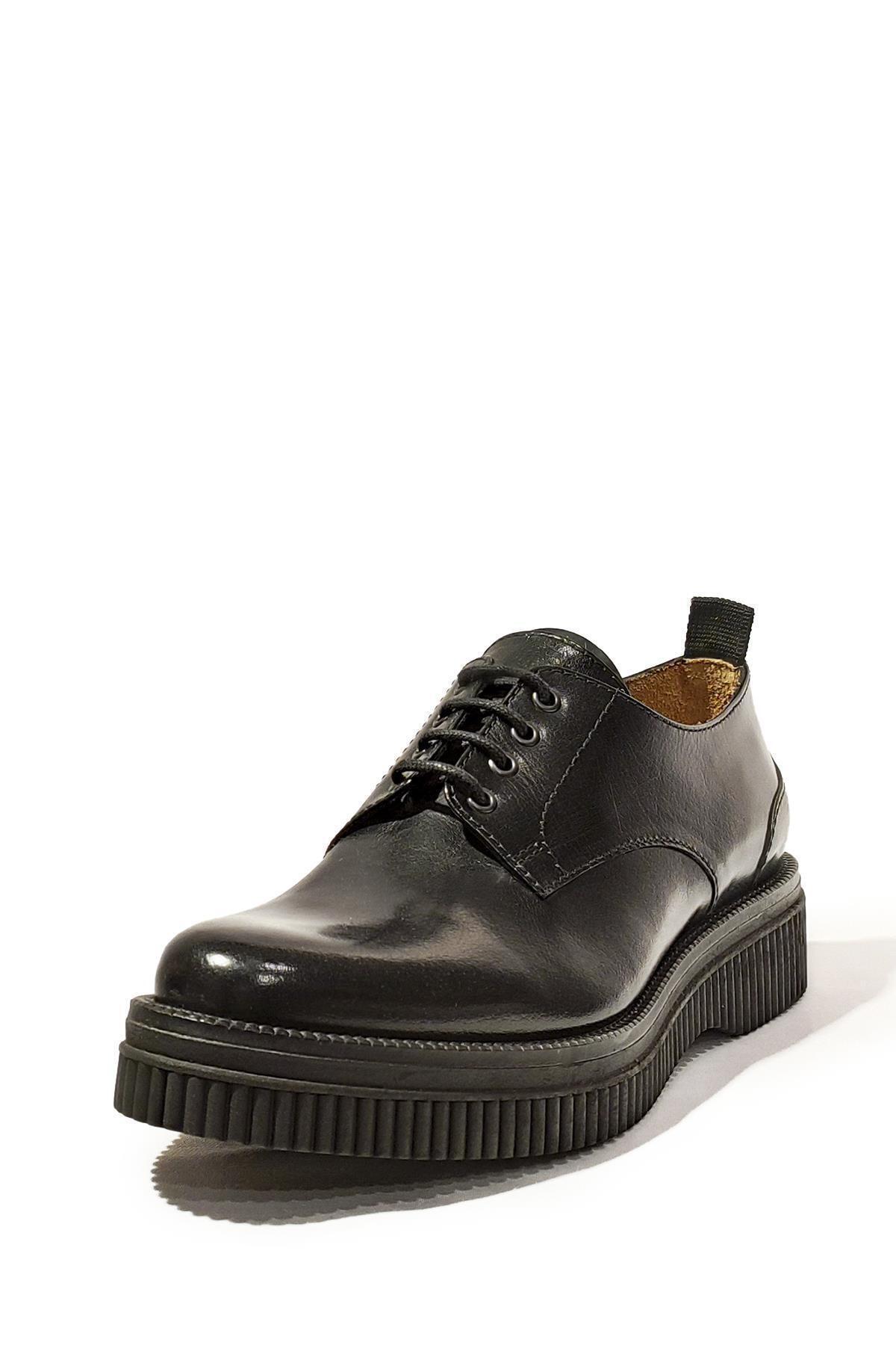 Nursace Hakiki Deri Klasik Ayakkabı Nsc17k-a53861 1
