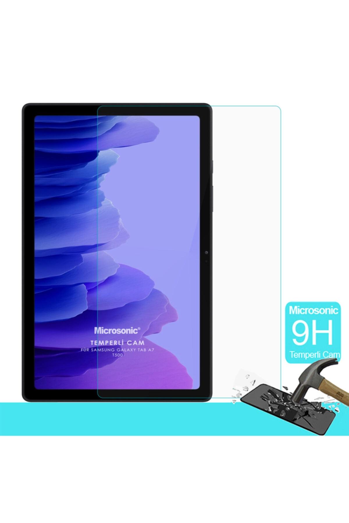 Samsung Microsonic Galaxy Tab A7 T500 Tempered Glass Cam Ekran Koruyucu 1