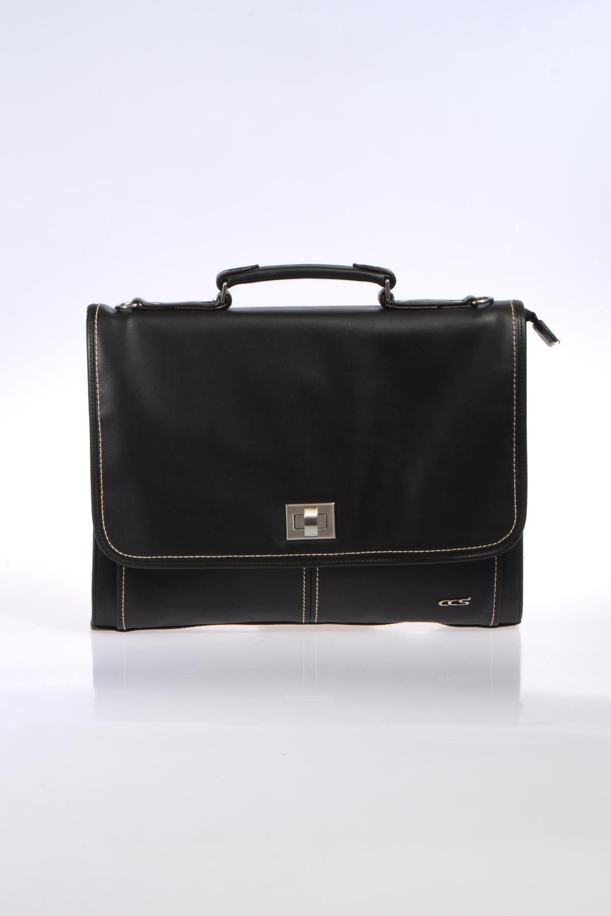 ÇÇS Kahverengi Unisex Laptop & Evrak Çantası 1