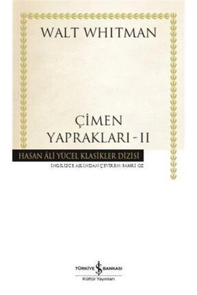 İş Bankası Kültür Yayınları Çimen Yaprakları 2 (karton Kapak)