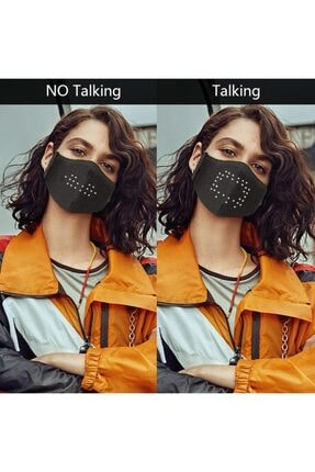 ZenBuy Ses Kontrollü Ledli Maske