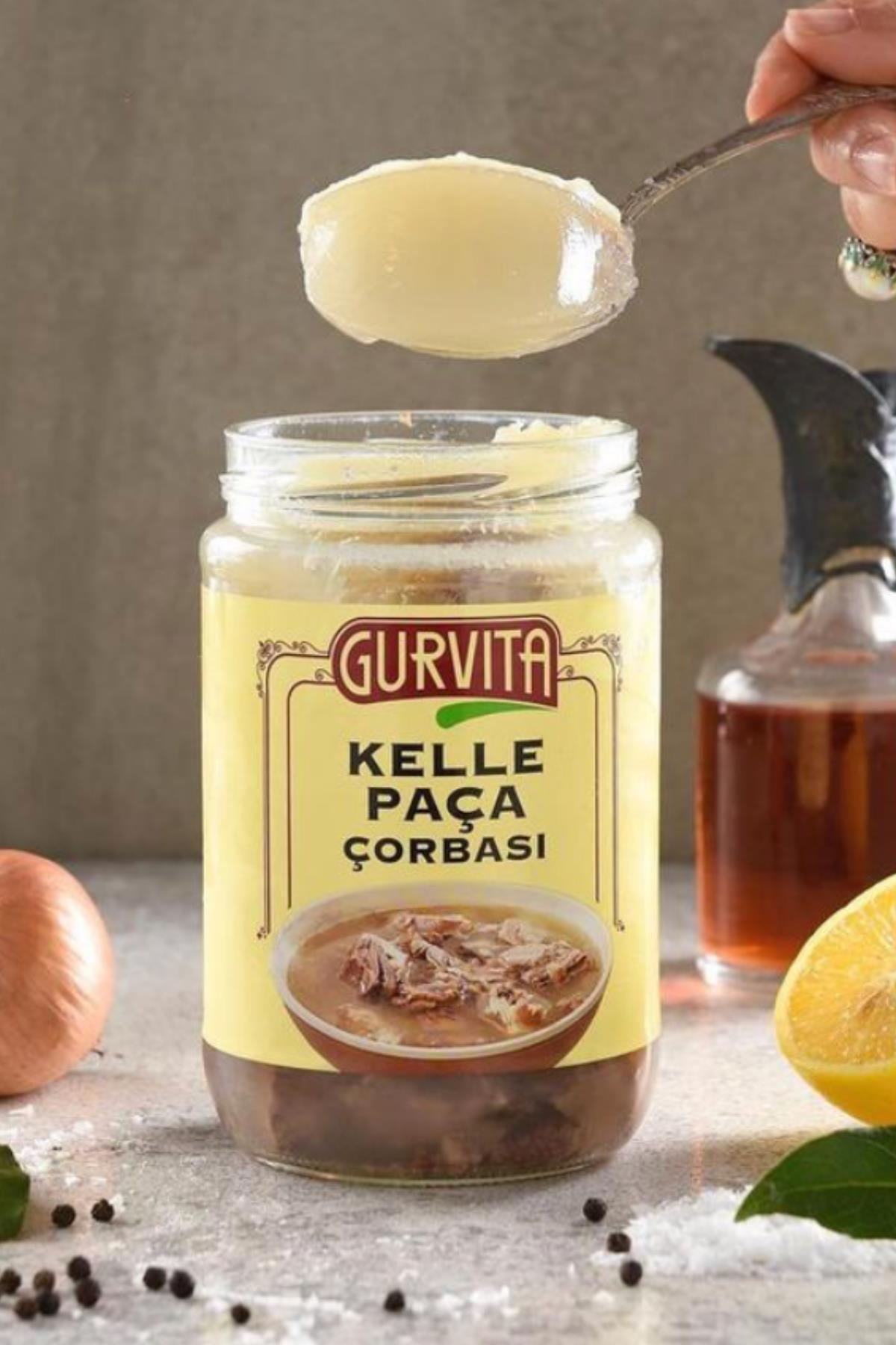 Gurvita Kelle Paça Çorbası 660 ml 2