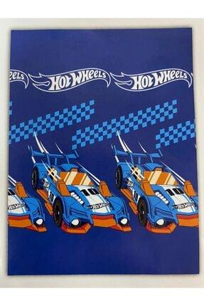 Zorluteks Hot Wheels Blue Car Lisanslı Tek Kişilik Battaniye
