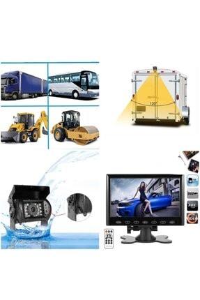 Navigold 9 Inç Usb Sd Araç Monitör Ve 18 Ledli Metal Kasa Araç Kamerası Kamyon Minibüs Traktör Biçerdöver