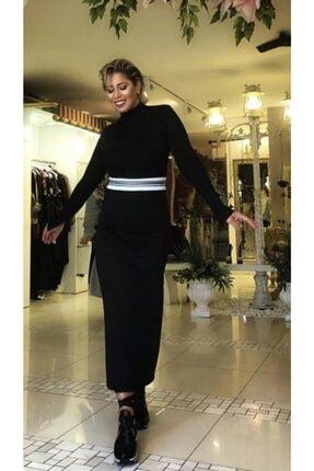 SERPİL Kadın Beli Ribanalı Elbise