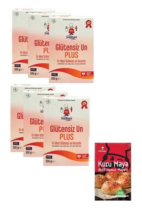 Sinangil Glutensiz Un Plus 500 G. + Pakmaya 100 G. Kuru Maya