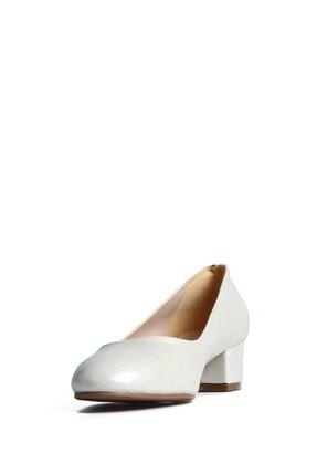 PUNTO 544677 Kadın Sedef Günlük Topuklu Ayakkabı