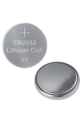 Supex 5 Adet Cr 2032 Pil Bios Para Baskül Tartı Pili