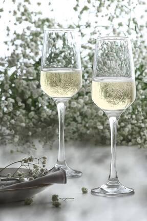 LAV Lal 6 Parça Şampanya Kadehi