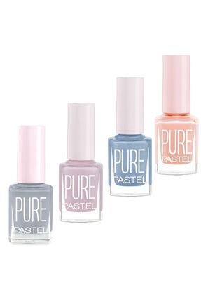 Pastel Oje Pure 4'lü 77.set 613-612-611-603