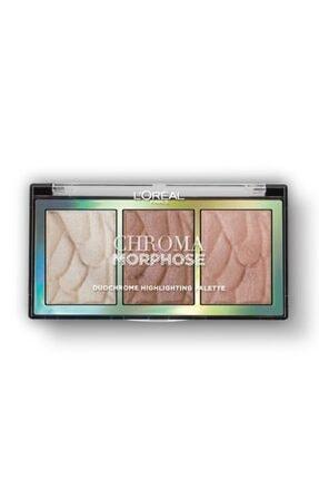 L'Oreal Paris Chroma Morphose Duochrome Aydınlatıcı Palet