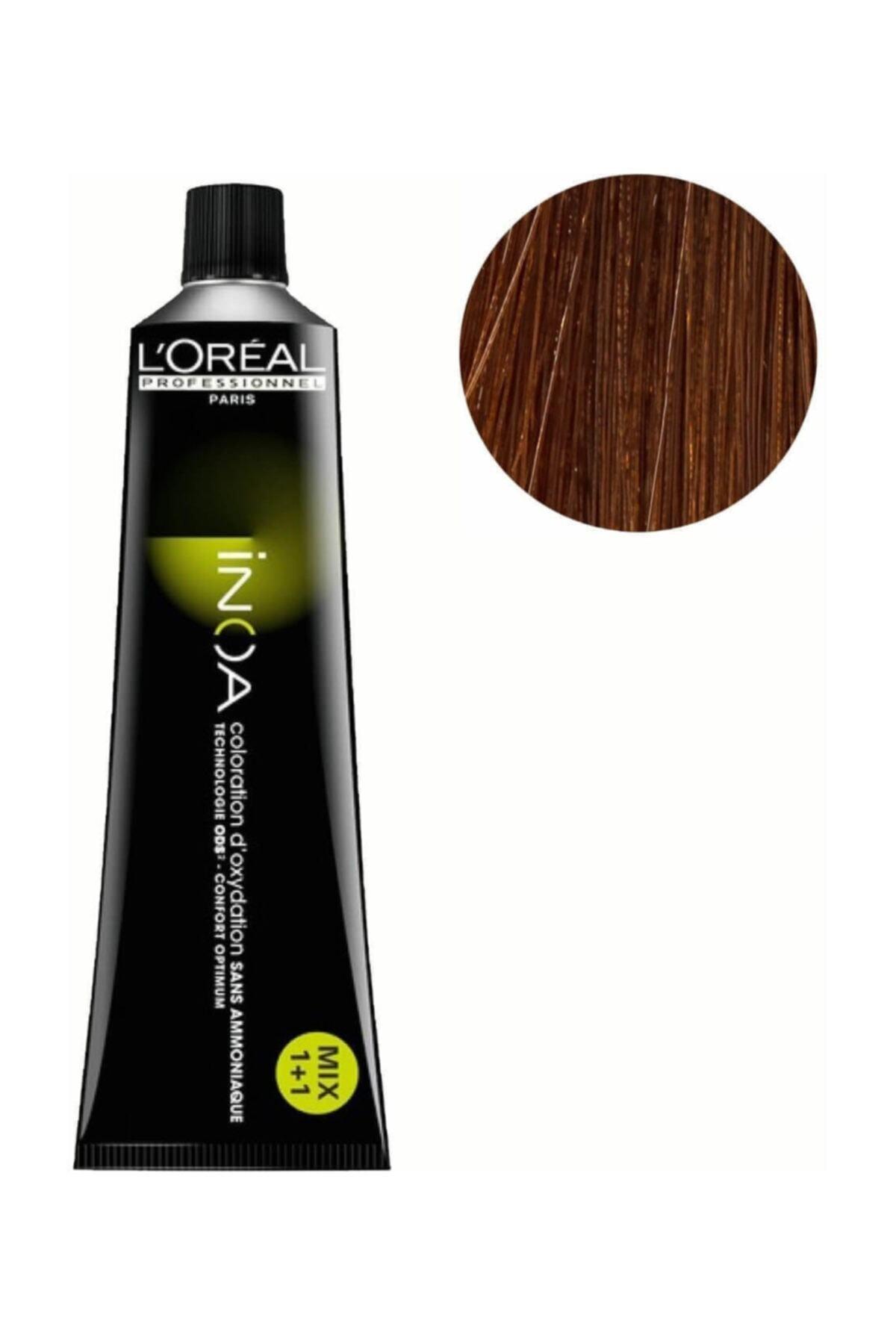 İNOA Loreal Professionnel Amonyaksız Saç Boyası 60ml 1