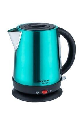 AWOX Demplus Koyu Yeşil Paslanmaz Çay Makinası