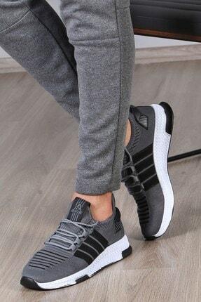 Madmext Erkek Şeritli Füme Sneaker Ms027