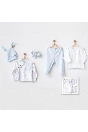 andywawa Erkek Bebek Mavi Hastane Çıkışı 5 Pcs Set Ac20820