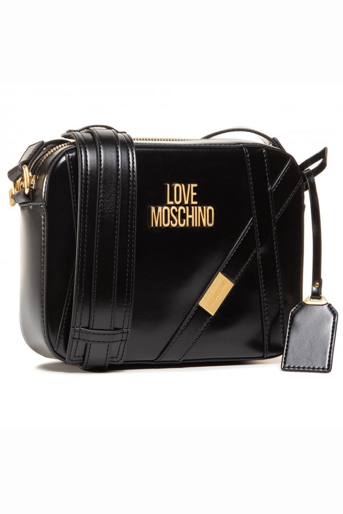 Love Moschino Love Moschıno Jc4277pp0bks0 Siyah Kadın Omuz Çantası 1