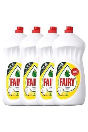 Fairy Sıvı Bulaşık Deterjanı Limon Avantaj Paketi 4 X 1350 Ml