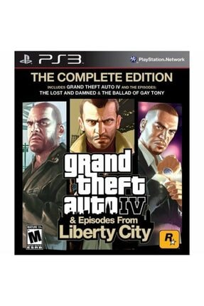 RockStar Games Gta 4 & Liberty City Stories Ps3