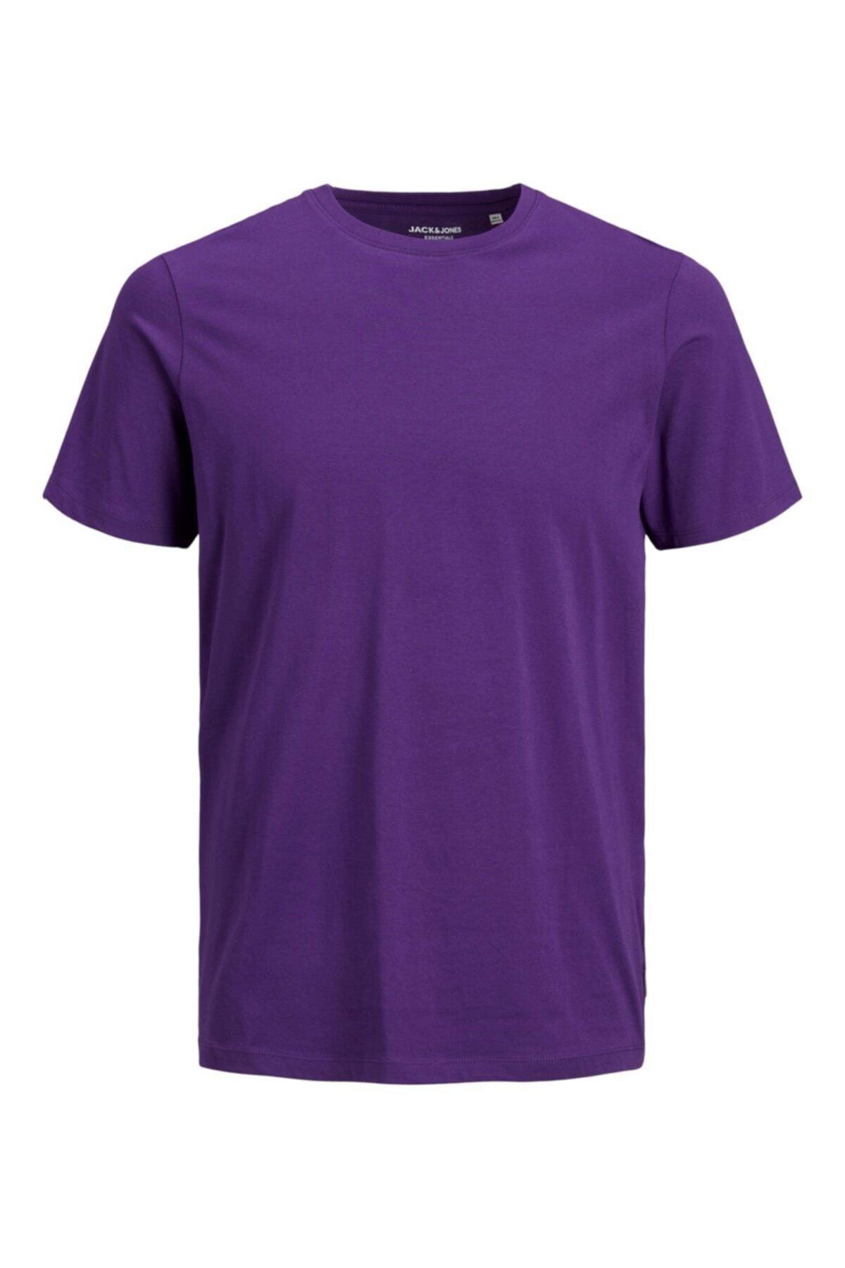 Jack & Jones Erkek Jjeorganıc Basıc Tee Ss O-neck Noos T-shirt 12156101 1
