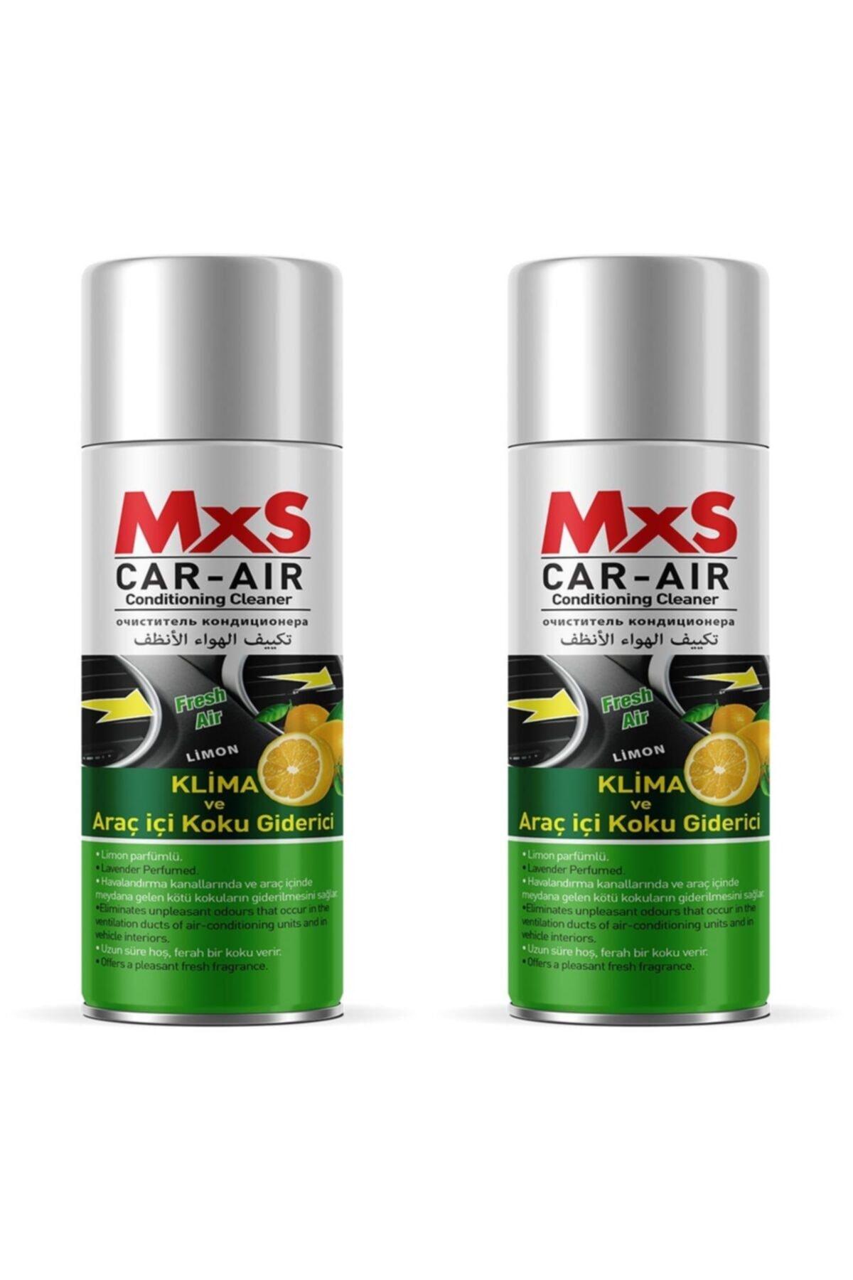 MxS Fresh Koku Bomba Araç Içi Ve Klima Koku Giderici Limon Kokulu 200 ml - 2 Adet 1