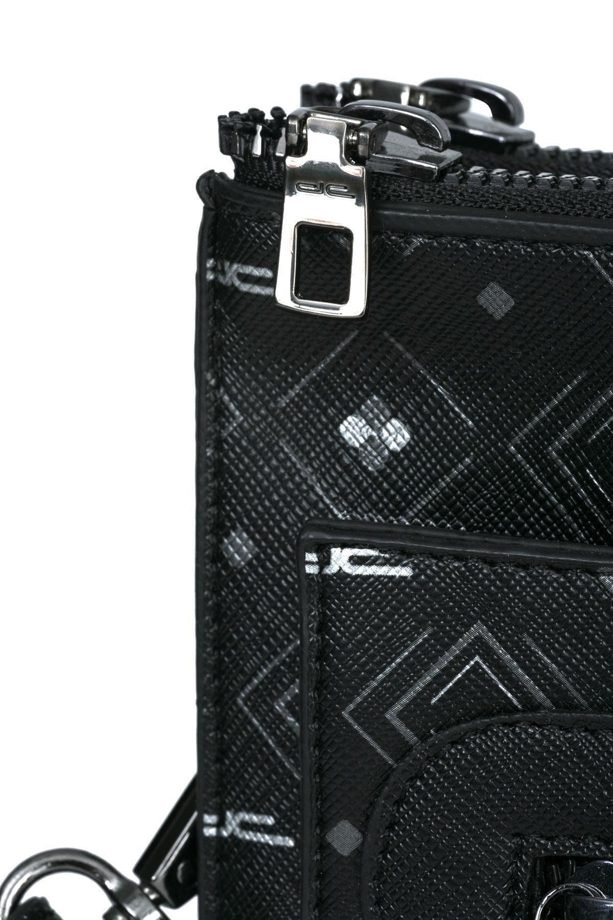 Deri Company Kadın Siyah Gri Çanta 2