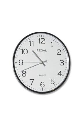 Regal İnce Çerçeve Slim Duvar Saati 0250 Bw