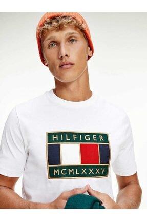 Tommy Hilfiger Relaxed Global Flag Erkek Tshirt