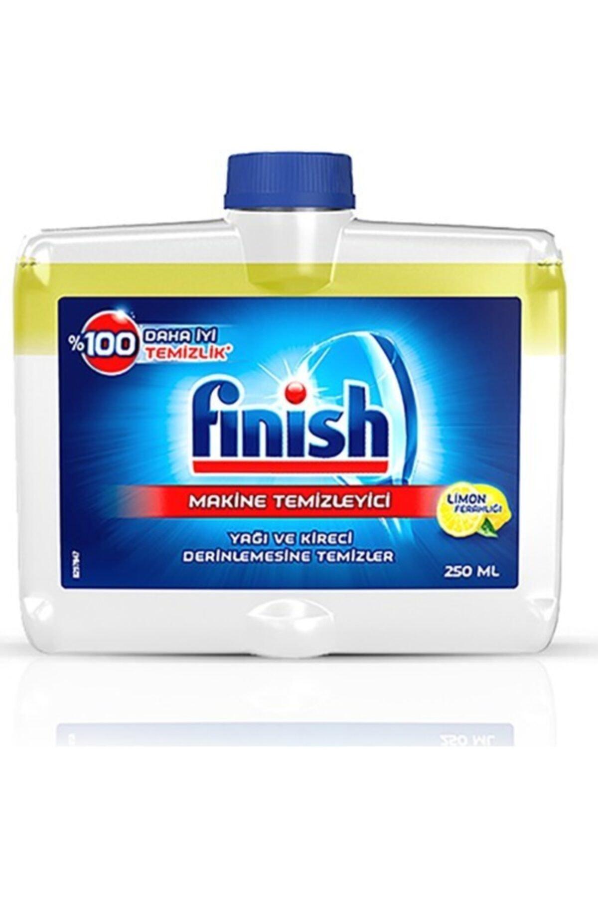 Finish Bulaşık Makinesi Temizleyici Sıvı 250 ml Limon 2