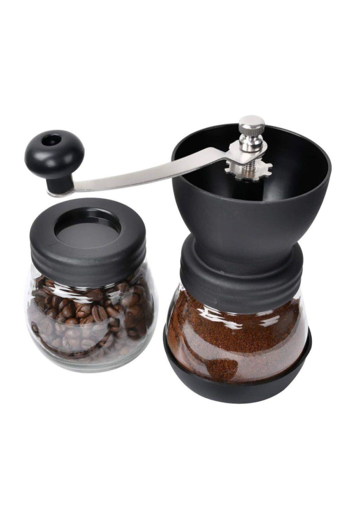 Kahvehanem Black Goat Seramik Kahve Değirmeni - Manual Ceramic Grinder (for Chemex, V60, French Press) 2