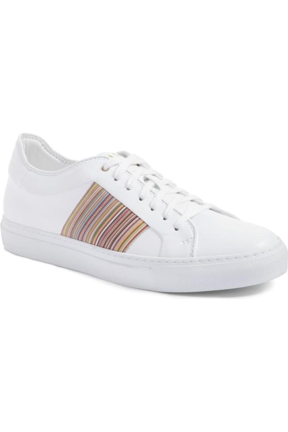 Paul Smith Erkek Beyaz Sneaker 1