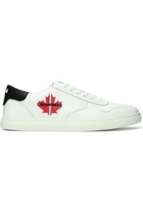 DSquared2 Erkek Beyaz Sneaker
