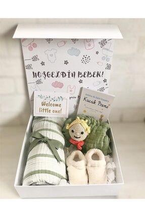 BabySurpriseBox Hoşgeldin Bebek! Küçük Prens Polar Kaydırmaz Taban Ayakkabılı
