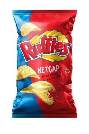 Ruffles Ketçap Aroma Çeşnili Patates Cipsi Süper Boy 106 Gr