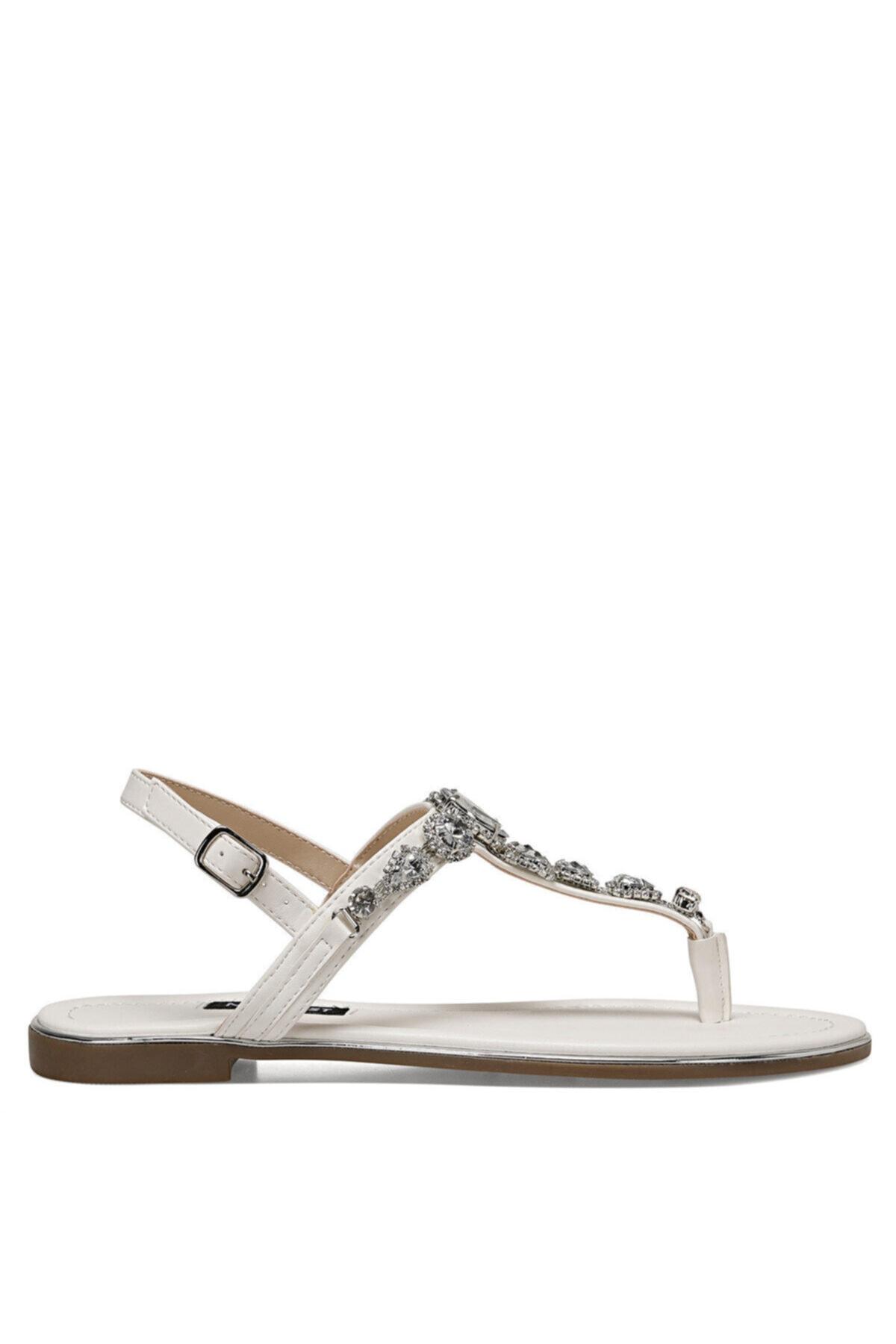 Nine West ZULI Beyaz Kadın Sandalet 100524863 1