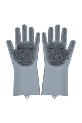 1001Hediye Magic Gloves Sihirli Bulaşık Eldiveni Mutfak Banyo Temizleme Fırçası Oto Ev Iş