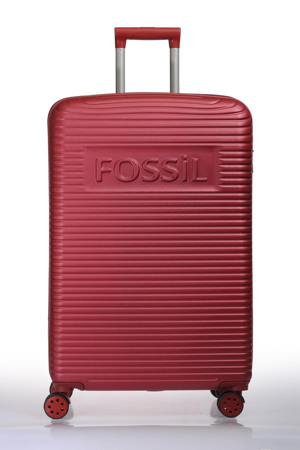 Fossil Fsy1129-l Kırmızı Unısex Büyük Boy Valiz 1