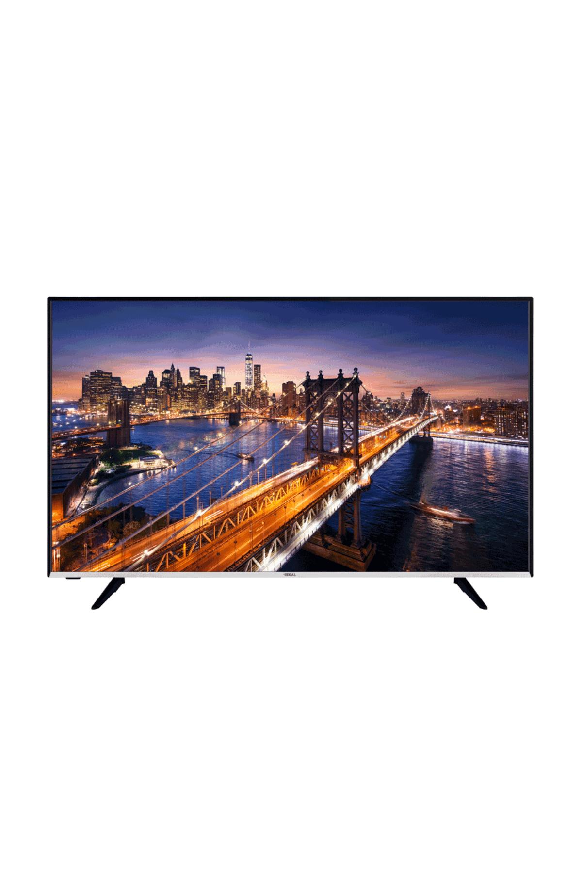 """Regal 50R754U 50"""" 126 Ekran Uydu Alıcılı 4K Ultra HD Smart LED TV"""