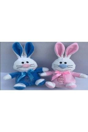 HALLEY 20 Cm Mavi Pembe Tavşan