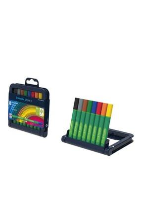 SCHNEIDER Lınk-It Keçe Uçlu Kalem 1,0 Mm 8'Li Set