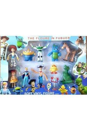Aniloyuncaktr Toy Story Woody Buzz Jessıe Bullseye 11 Figürlü Set Oyuncak