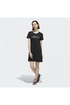 adidas Kadın Siyah Elbise  W E Brand Dress FL0141