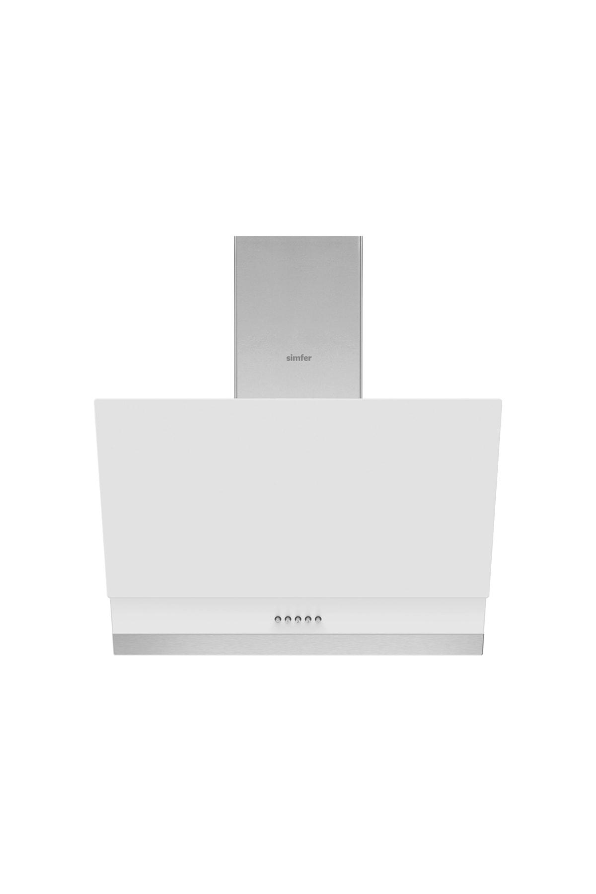 Simfer Beyaz Dijital Ankastre Cam Set (3507 - 9604 - 7340) 2