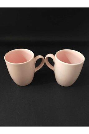 Keramika Tekli Pembe Kupa