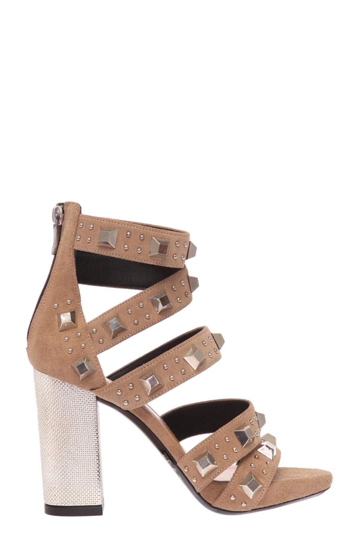 Barbara Bui Bej Sandalet 1